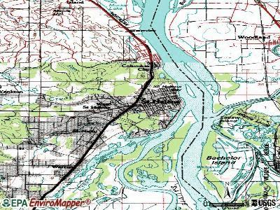 st helens oregon map Map Of St Helens City Of St Helens Oregon st helens oregon map
